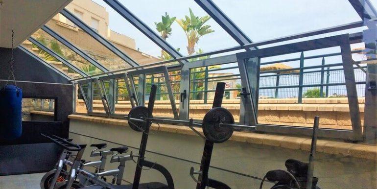 Fitness inside the urbanisation