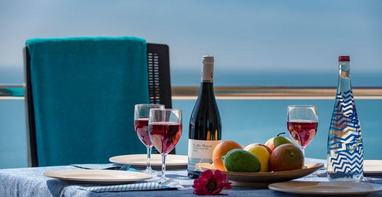 table sea backdrop